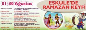 Eskule'de Ramazan Programı