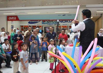 Eskule'de Sihirli Balon Show