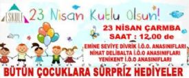 23 Nisan Etkinlik